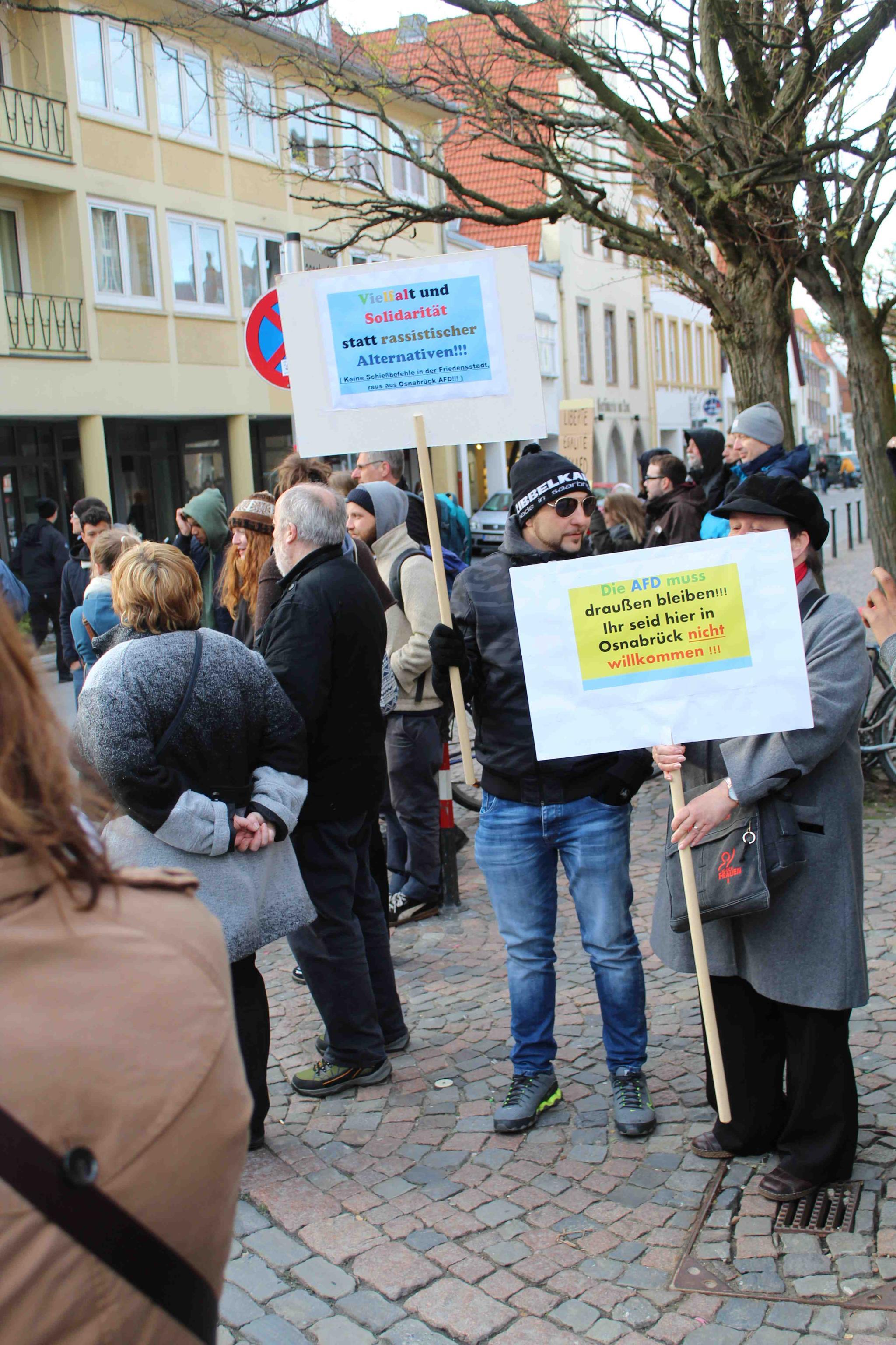 Protest BCE