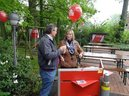 Gewerkschaftssekretärin Elisabeth Popken und Bernd Mentgen, GdP